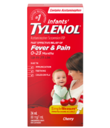 Tylenol Infants' Fever & Pain Suspension Drops Cherry
