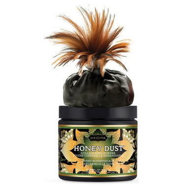 Kama Sutra Honey Dust Body Powder Sweet Honeysuckle