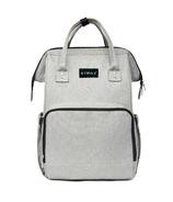 Stonz Urban Pack Backpack Diaper Bag Light Grey