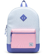 Herschel Supply Heritage Youth XL Ballad Blue, Candy Pink & Dusted Peri