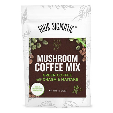 Four Sigmatic Mushroom Coffee Mix with Green Coffee Bean Extract