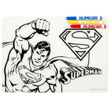 Bumkins DC Comics Silicone Colouring Mat Superman
