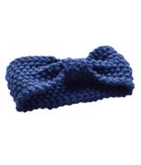 Mini Bretzel Warm Headband Blue
