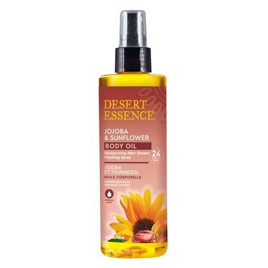 Desert Essence Jojoba & Sunflower Body Oil Spray