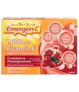 Emergen-C Super Energy Booster Instant Drink Mix Cranberry Pomegranate