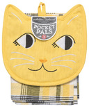 Now Designs KitchenSet Pocket Pals Calvin Cat
