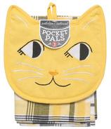 Now Designs KitchenSet Pocket Pals Calvin Cat