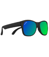 ro sham bo baby Bueller Baby Shades Black and Mirrored Green