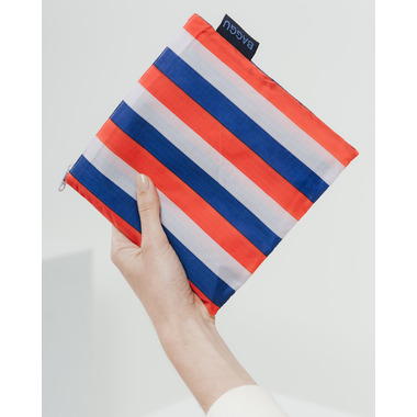 Baggu Big Baggu Reusable Bag in Red Nineties Stripe