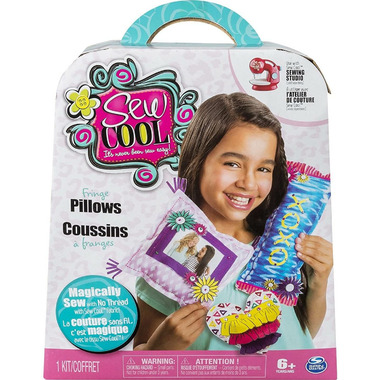 Sew Cool Character Kit Pillows