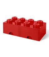 LEGO Storage Drawer 8 Red