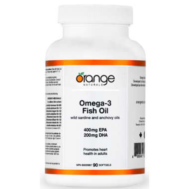 Orange Naturals Omega-3 Fish Oil