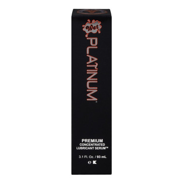 Wet Platinum Premium Concentrated Lubricant Serum