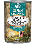 Eden Organic Canned Cannellini White Kidney Beans