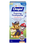 Orajel Fluoride Free Paw Patrol Training Toothpaste