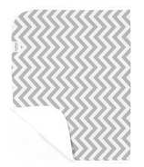 Kushies Deluxe Waterproof Change Pad Chevron Grey