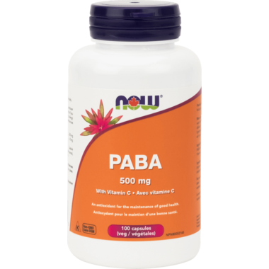 NOW Foods Paba with Vitamin C 500 mg