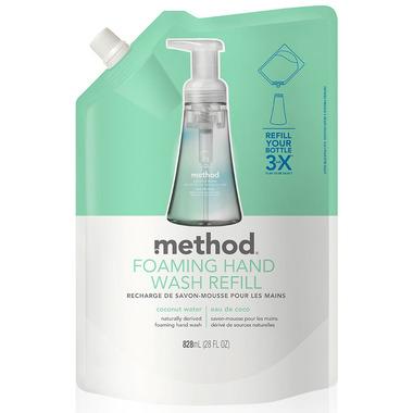 Method Foaming Hand Wash Refill Coconut Water