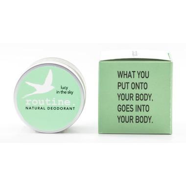 Routine De-Odor-Cream Natural Deodorant in Lucy in the Sky Scent