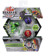 Bakugan Starter Pack 3-Pack Dragonoid Ultra Armored Alliance Collectible Action Figures