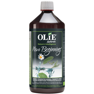 Olie New Beginnings Organic Fermented Herbal Probiotic Drink
