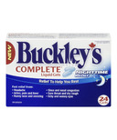 Buckley's Complete Night Time Liquid Gels