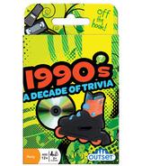 Jeu de cartes Trivia des années 90 d'Outset Media