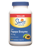 Swiss Natural Sources Papaya Enzyme Super