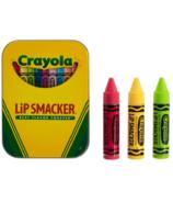 Trio de boîtes de baume à lèvres Crayola Lip Smacker
