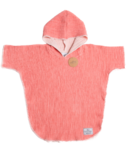 Tofino Towel Co. Pebble Kids Poncho Coral