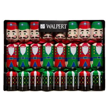 Walpert Nutcracker Crackers 8 Pack