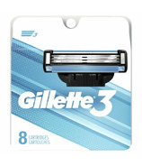 Gillette3 Men's Razor Blade Refills 8 Count