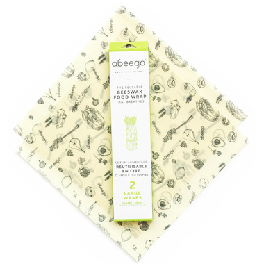 Abeego Large Flat Natural Food Wraps
