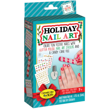 Creativity for Kids Holiday Nail Art Mini Kit