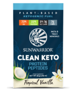 Sunwarrior Clean Keto Protein Peptides Tropical Vanilla