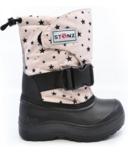 Stonz Trek Boots Star Print Haze Pink Black