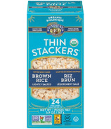 Lundberg Organic Brown Rice Lightly Salted Thin Stackers