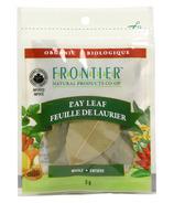 Feuille de laurier entière biologique de Frontier Natural Products