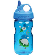 Nalgene 12 Ounce Grip-n-Gulp Bottle Blue with Space Art
