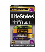 LifeStyles Ultra Trial Condom Pack and Ring