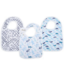 aden + anais Classic Snap Bibs Gone Fishing