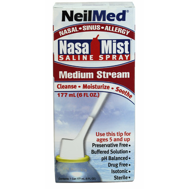 NeilMed NasaMist Medium Stream Saline Spray