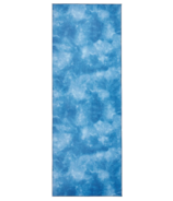 Manduka eQua Towel Camo Tie Dye Blues Mat Towel