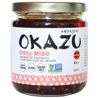 Abokichi OKAZU Chili Miso Sesame Oil Condiment Large