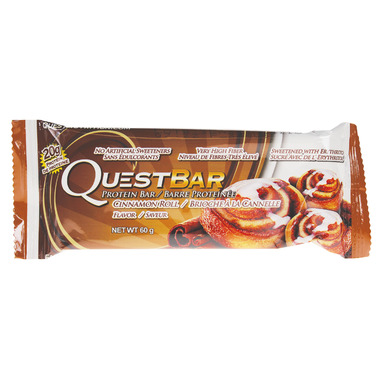 Quest Nutrition Cinnamon Roll Protein Bar