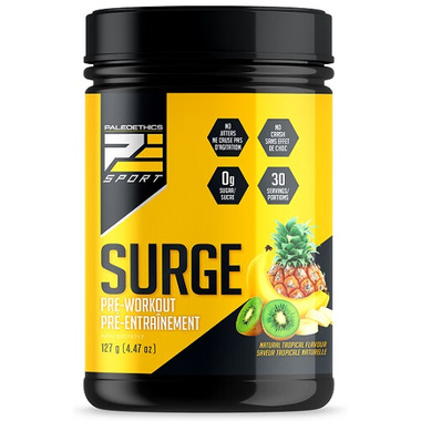 PaleoEthics Surge Preworkout Tropical Flavor