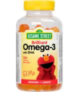 Sesame Street by Webber Naturals Omega-3 Gummy