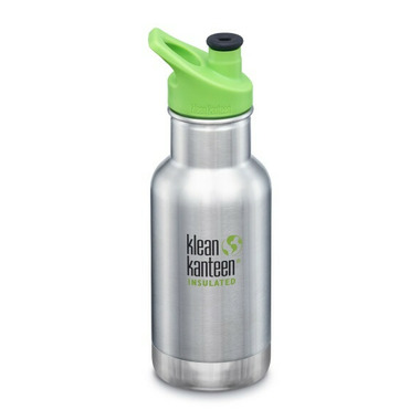 Klean Kanteen Insulated Kid Classic with Kid Sport Cap Brushed Stainless