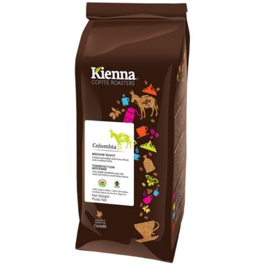 Kienna Coffee Roasters Columbia Whole Bean Coffee
