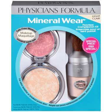 Physicians Formula Mineral Wear Flawless Complexion Kit